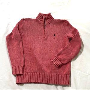 Ralph Lauren Polo vintage 1/2 zip pullover sweater
